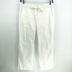 Talbots Signature White Cargo Relaxed Pants